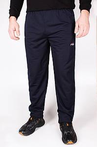 Спортивные штаны мужские на манжете темно-синие Sport 02-1