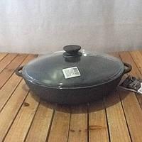 Сковорода сотейник 260х 60мм со стеклянной крышкой