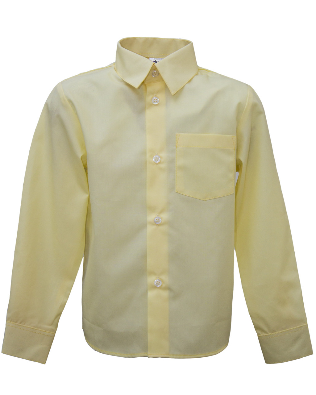 0ae951d981f2 Школьная рубашка для мальчика Желтая