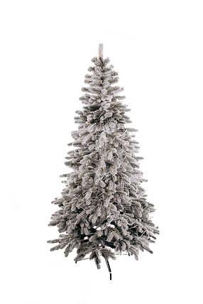 Ялинка лита засніжена Ковалівська з Гірляндою 1,5 м, фото 2