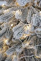 Ялинка лита засніжена Ковалівська з Гірляндою 1,5 м, фото 3