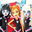 Набір ляльок Monster High Мурсефона, Мяулодия і Торалей (Toralei & sisters) Монстр Хай, фото 4