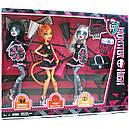 Набір ляльок Monster High Мурсефона, Мяулодия і Торалей (Toralei & sisters) Монстр Хай, фото 10