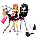Набір ляльок Monster High Пуррсефона, Мяулодия і Торалей (Toralei & sisters) Монстер Хай, фото 8