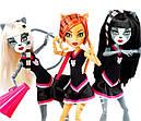Набір ляльок Monster High Пуррсефона, Мяулодия і Торалей (Toralei & sisters) Монстер Хай, фото 9