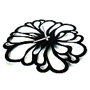 Настенные Часы Glozis Flower A-041 48х48, фото 3