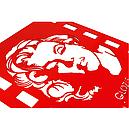 Вішалка настінна Glozis Monroe H-001 50 х 50 см, фото 2