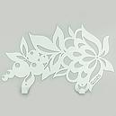 Вішалка настінна Glozis Folk H-050 72 х 25 см, фото 2