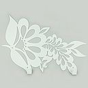 Вішалка настінна Glozis Folk H-050 72 х 25 см, фото 3