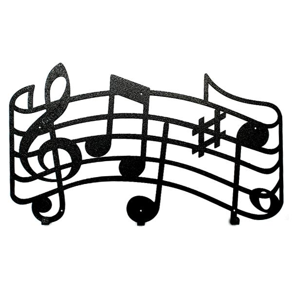 Вешалка настенная Glozis Melody H-049 55 х 32 см