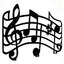 Вішалка настінна Glozis Melody H-049 55 х 32 см, фото 2