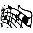 Вешалка настенная Glozis Melody H-049 55 х 32 см, фото 3