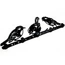 Вешалка настенная Glozis Birds H-066 50 х 16 см, фото 2