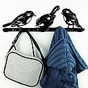 Вішалка настінна Glozis Birds H-066 50 х 16 см, фото 5