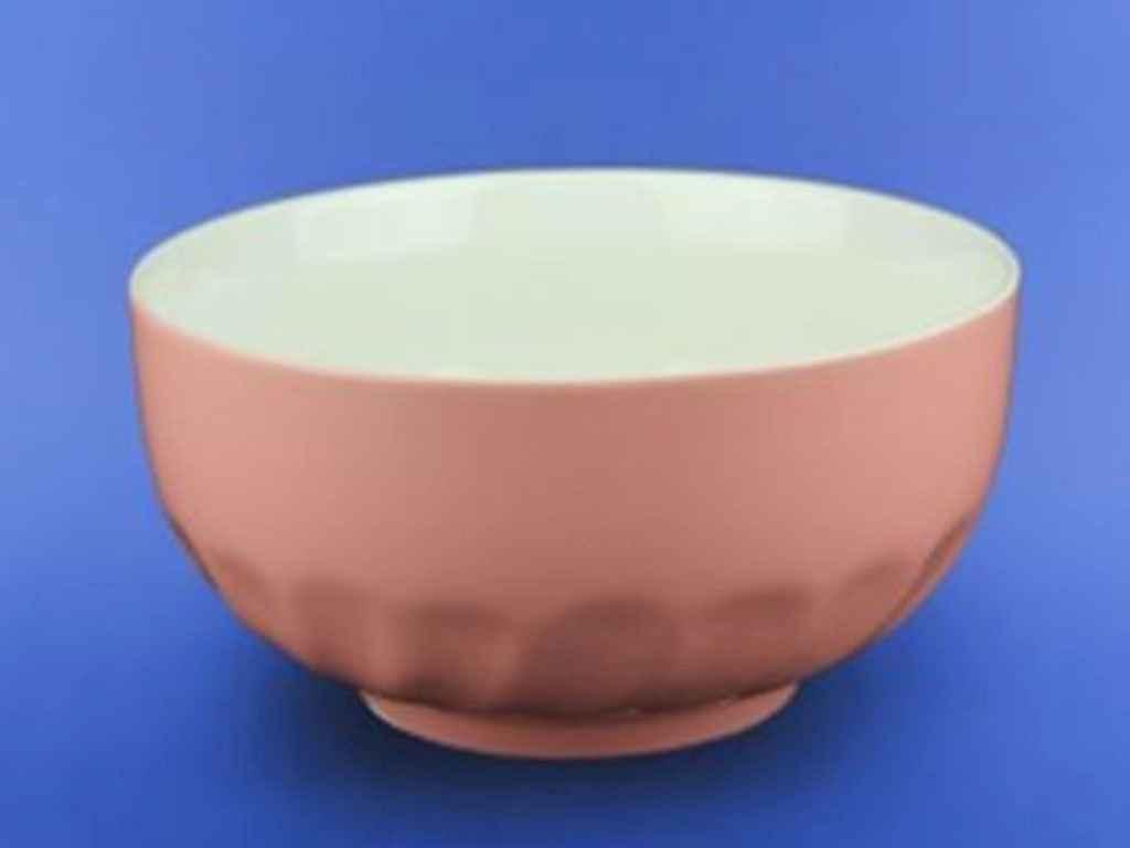 Салатник керамический Авангард розовый 700 мл