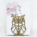 Упор для книг Glozis Owl G-034 15 х 12 см, фото 4