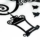 Вішалка настінна Glozis Lantern H-056 70 х 55 см, фото 7