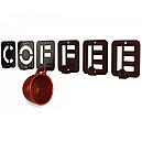 Вішалка настінна Glozis Coffee H-004 50 х 10 см, фото 4