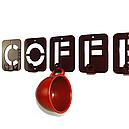 Вішалка настінна Glozis Coffee H-004 50 х 10 см, фото 5