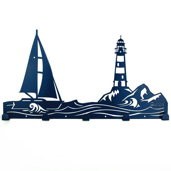 Вешалка настенная Glozis Sea H-065 50 х 26 см