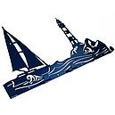 Вешалка настенная Glozis Sea H-065 50 х 26 см, фото 2
