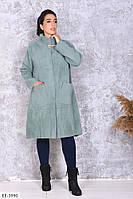 Кардиган женский стильный альпако голубой SKL11-260835