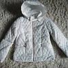 Курточка для девочек синтепон размер 146/152 см