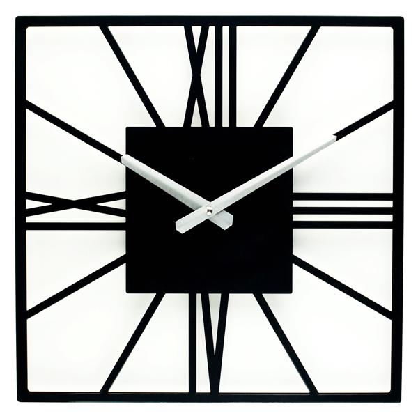 Настінні Годинники Glozis New York 35х35 см Чорний (B-024)