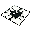 Настенные Часы Glozis New York 35х35 см Черный (B-024), фото 2