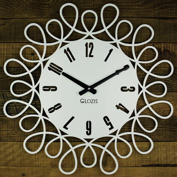 Настенные Часы Glozis Romantic 50х50 см Белый (B-020)