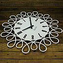 Настенные Часы Glozis Romantic 50х50 см Белый (B-020), фото 2