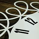 Настенные Часы Glozis Romantic 50х50 см Белый (B-020), фото 3