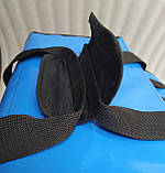 Терморюкзак высокий для доставки еды, суши, напитков. Рюкзак для курьерской доставки еды, напитков. ПВХ, фото 5