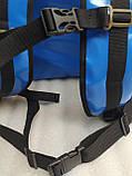 Терморюкзак высокий для доставки еды, суши, напитков. Рюкзак для курьерской доставки еды, напитков. ПВХ, фото 6