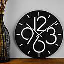 Настенные Часы Glozis Dublin Black B-030 35х35 (B-030), фото 4