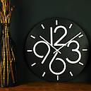 Настенные Часы Glozis Dublin Black B-030 35х35 (B-030), фото 5