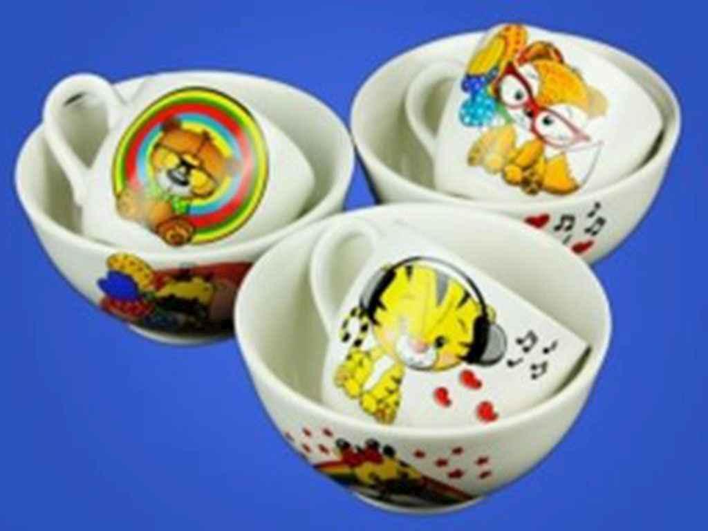 Набор детской посуды Авангард Детский микс 2 предмета