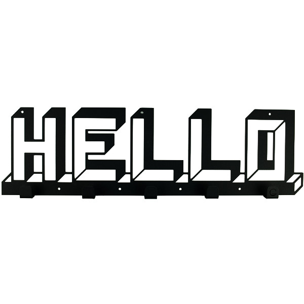 Вешалка настенная Glozis H-073 52см х 15 см Hello