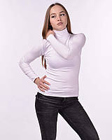 Водолазка женская гольф из микрофибры 42/48, белый