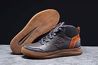 Зимние мужские кроссовки 31381, Timbershoes Sensorflex (на меху), темно-серые, [ 42 ] р. 42-27,6см.