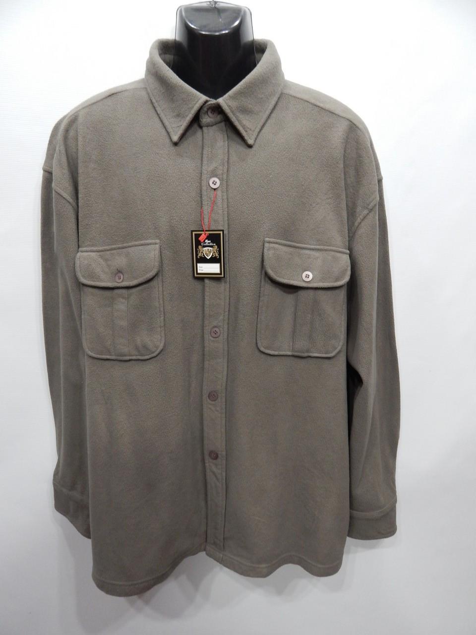 Мужская теплая флисовая рубашка Joes Outdoors оригинал р.58-60 065RT (батал)