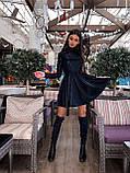 Платье люрекс с юбкой солнце BRТ1219, фото 6