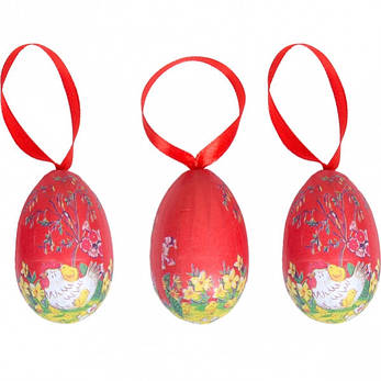 Набір яйця з стрічкою B112–2 W12, фото 2