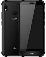 "Смартфон AGM A10 6/128GB Black, 13/8 Мп, 5.7"" IPS, Tiger T310, 4 ядра, 4400 мАч, 4G"