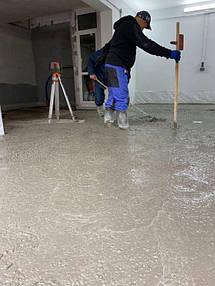 Устройство промышленного бетонного пола упрочнненого топингом   3
