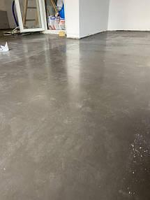 Устройство промышленного бетонного пола упрочнненого топингом   1