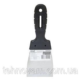 Шпательная лопатка стандарт (нержавеющая) 80мм GRAD (8320245)