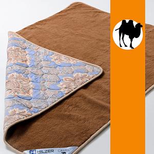 Ковдра з вовни Верблюда та Сатину Hilzer Camel/Satin 100х140 см
