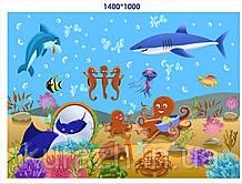 """Наклейка """"Морський світ"""""""