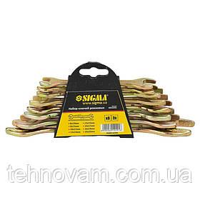 Ключи рожковые 8шт 8-22мм БЕЛАРУСЬ SIGMA (6010291)